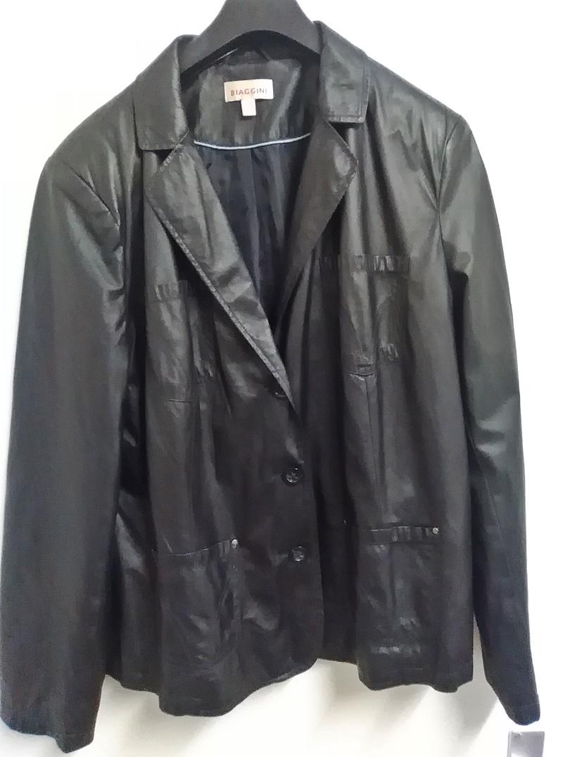 KS 34 schwarze Jacke Übergangsjacke Gr.48 Damenmode Damen Kleidung Mode